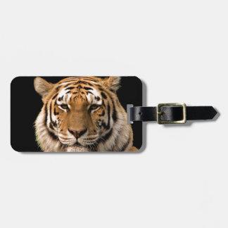 Tiger Design Luggage Tag