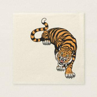 tiger disposable napkin