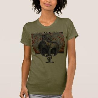 Tiger & Dragons Rising Sun Custom Camo T-shirt