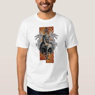 Tiger & Dragons Rising Sun Custom ... - Customized Tshirt