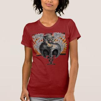 Tiger & Dragons Rising Sun Custom T-shirt
