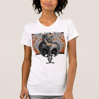Tiger & Dragons Rising Sun Custom Top T-shirts
