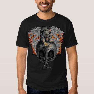 Tiger & Dragons Rising Sun Customized T-shirt