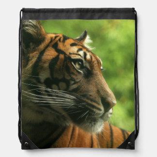 Tiger Drawstring Backpack