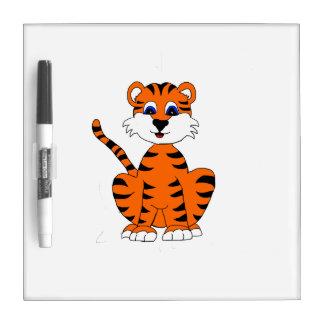 Tiger Dry Erase Board