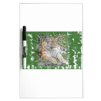 Tiger Dry Erase Board