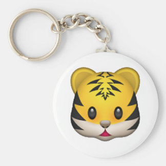 Tiger - Emoji Key Ring