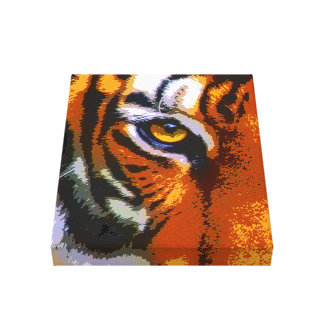 TIGER EYE GALLERY WRAPPED CANVAS