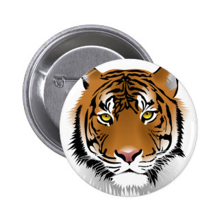 Tiger Eyes 6 Cm Round Badge
