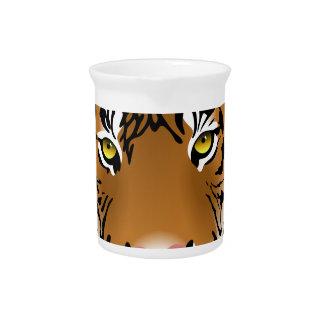 Tiger Eyes Beverage Pitcher
