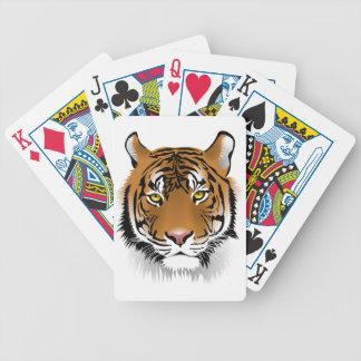 Tiger Eyes Bicycle Playing Cards