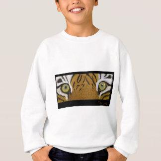 tiger eyes huge sweatshirt