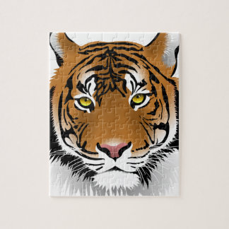 Tiger Eyes Jigsaw Puzzle