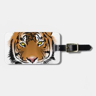 Tiger Eyes Luggage Tag