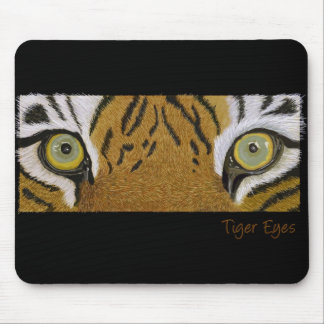 tiger eyes mouse mat