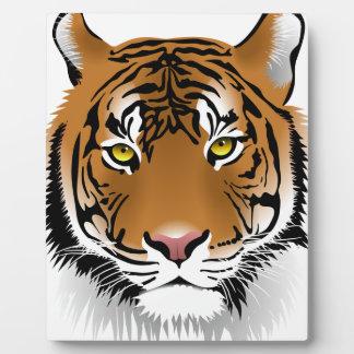 Tiger Eyes Plaque