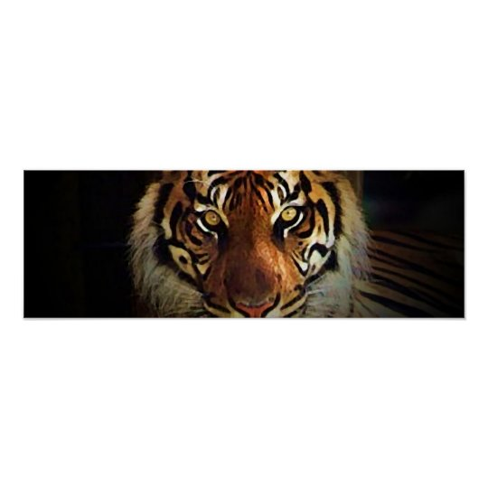 Tiger Eyes Poster - Wild Life Posters