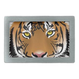 Tiger Eyes Rectangular Belt Buckles