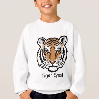 Tiger Eyez! - Kids Sweatshirt