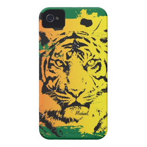 Tiger Face Blackberry Bold  Case-Mate Case Blackberry Bold Covers