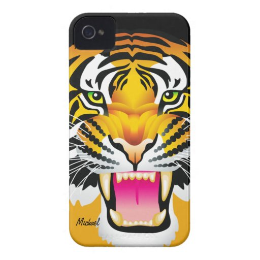 Tiger Face Blackberry Bold  Case-Mate Case Blackberry Bold Cover