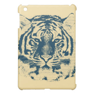 Tiger Face Close-Up 3 iPad Mini Cover