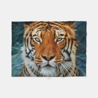 Tiger Face Fleece Blanket