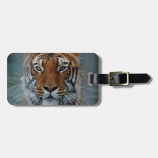 Tiger Face Luggage Tag