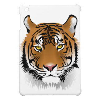 Tiger Face Print, iPad Mini Case Hard Shell