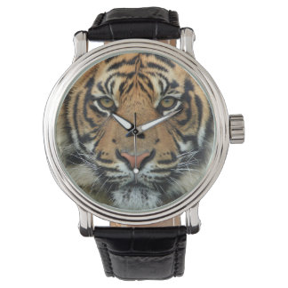Tiger Face Wrist Watches