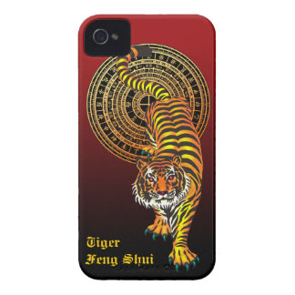 Tiger Feng Shui iPhone 4 Case-Mate ケース