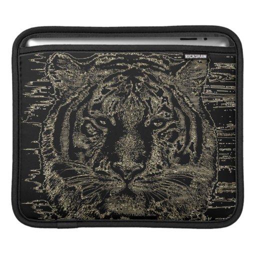 Tiger Fine Art 3 - iPad sleeve