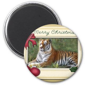 Tiger Flavio-c-147 copy 6 Cm Round Magnet