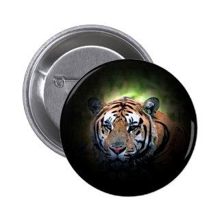 Tiger Free Spirit 6 Cm Round Badge