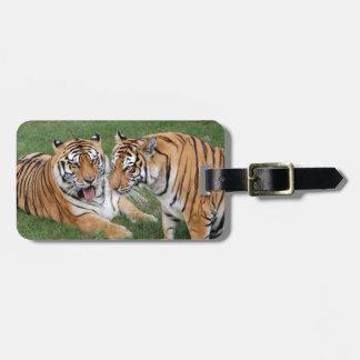 Tiger Friends-009 Luggage Tag