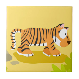 Tiger from my world animals serie tile