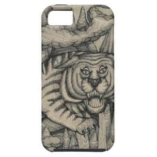 Tiger From The Mountain iPhone 5 Covers