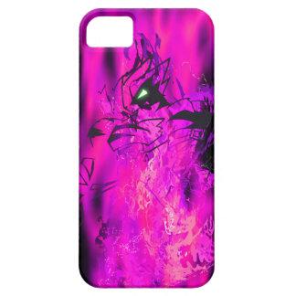 Tiger Fuchsia Flame iPhone 5 Covers