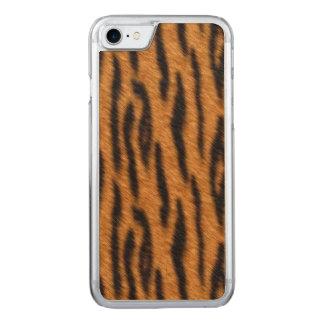 Tiger Fur Carved iPhone 8/7 Case