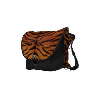 Tiger Fur Commuter Bags