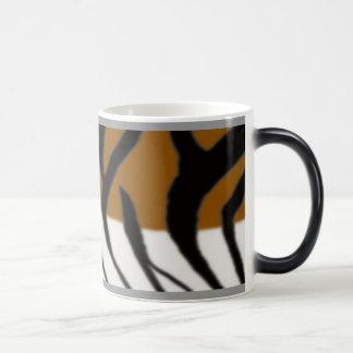 Tiger Fur Morphing Mug