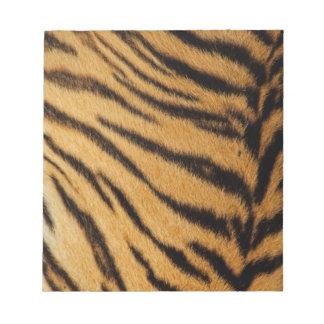 Tiger Fur Stripes Notepad