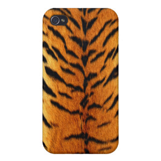 "Tiger ""Fur"" Stylish Trendy Chic iPhone4 SpeckCase iPhone 4 Cover"