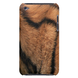 Tiger fur texture ipod touch 4G case, gift idea iPod Touch Cover