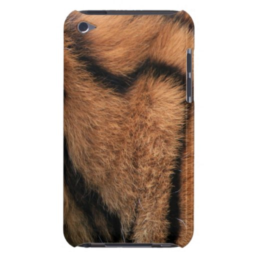 Tiger fur texture ipod touch 4G case, gift idea iPod Case-Mate Cases