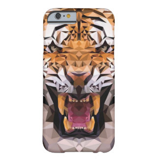 Tiger Geometric Barely There iPhone 6 Case