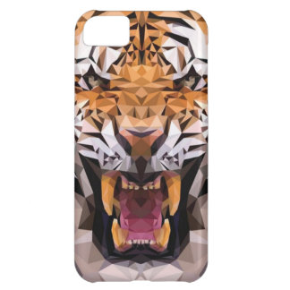 Tiger Geometric iPhone 5C Cover