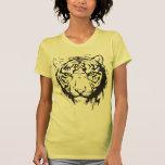 Tiger Head Blue Eyes Shirts