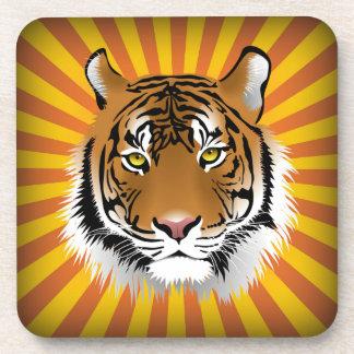 Tiger Head Coaster