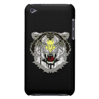 Tiger Head Metallic-look Wild Cat Animal Case-Mate iPod Touch Case